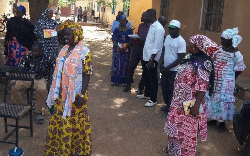Formations du personnel de santé au Mali pour la prévention des infections et la gestion des déchets