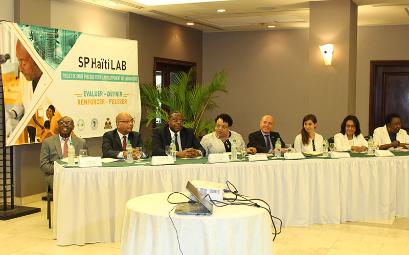 The Ministry of Public Health and Population launches Haiti's first National Laboratory Policy