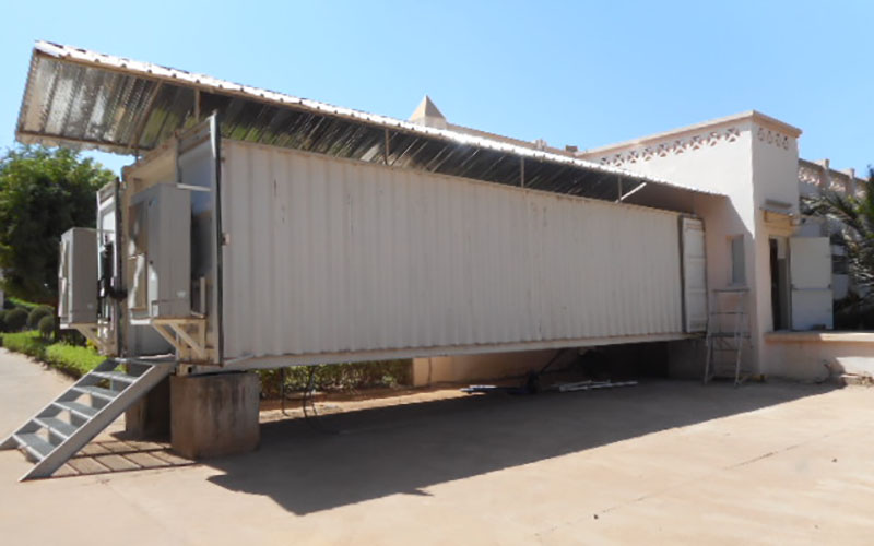 BSL3 containment laboratory at the Charles Mérieux Center for Infectious Disease of Mali